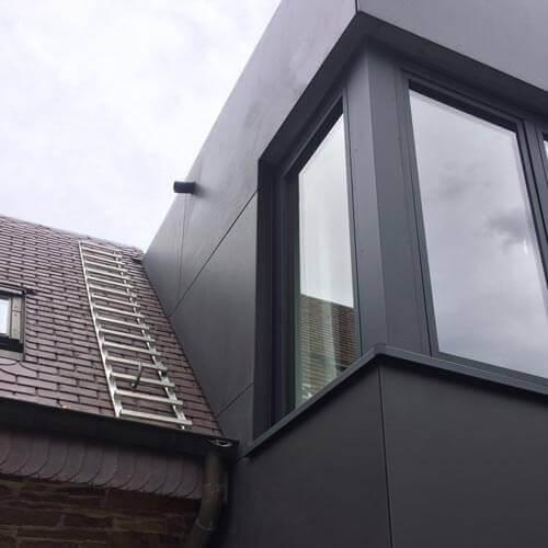 Travaux d'isolation de la toiture