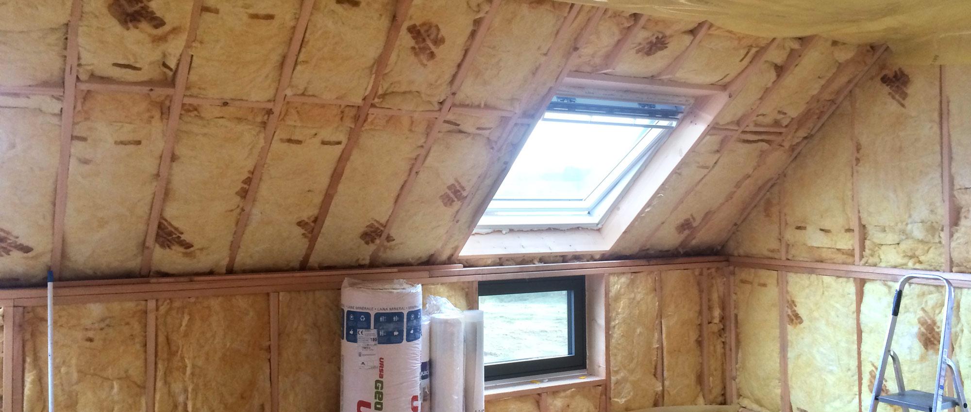 Isolation de toiture ciney et marche en famenne for Isolation de toiture par l interieur